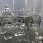 ガラス花器 サイズ・形様々ご用意しています