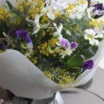 花束 季節の花で お誕生日祝 春 ¥4,500~