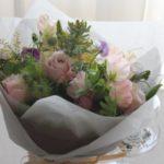 花束 季節の花で お誕生日 春 ¥5,000~